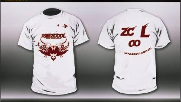 参与ZCOOL设计了个T-shirt