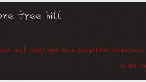 one tree hill … lost souls