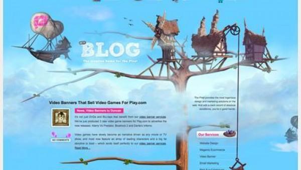 40个出色的插图网站设计