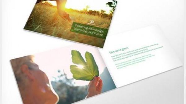 50个优秀的印刷宣传册设计创意