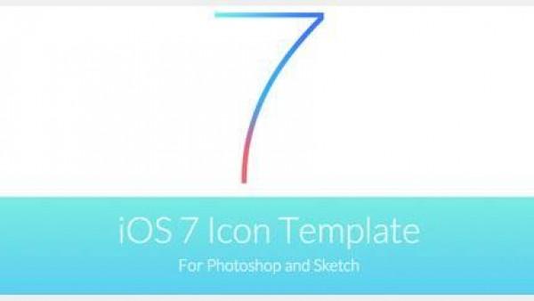 iOS 7 扁平化图标模板