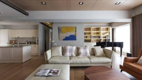 高雅现代风格公寓设计