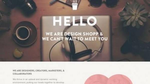 17个美丽的关于页面创意设计