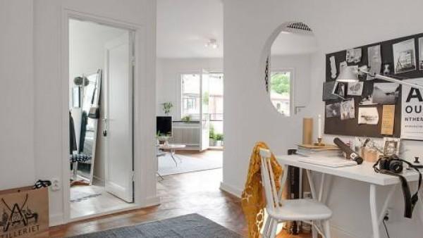 北欧俏皮装饰多彩公寓设计