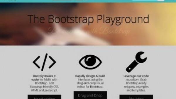 40个有用的Bootstrap工具和WEB开发工具
