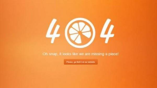 超有创意的404错误页面设计的例子