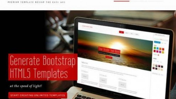 15个最好的Bootstrap设计工具