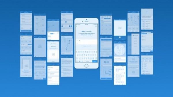 高品质iOS和WEB线框工具包下载