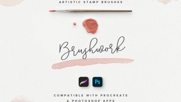 免费下载50+适用于PS和Procreate的艺术笔刷