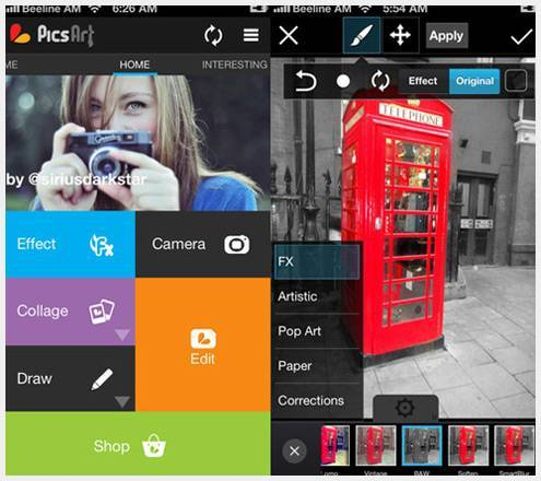 10个新鲜有意思的iPhone摄影应用程序