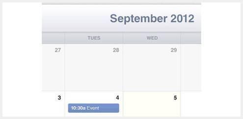 40个优秀免费的日历界面PSD下载