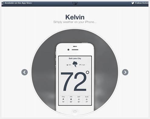 21美丽的iPhone应用程序网站