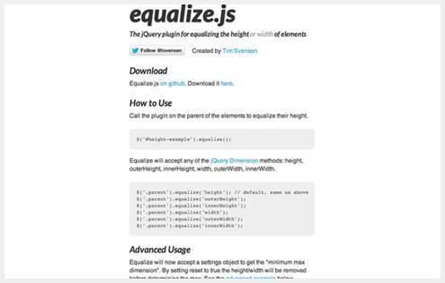8个实用的页面布局和用户界面jQuery插件