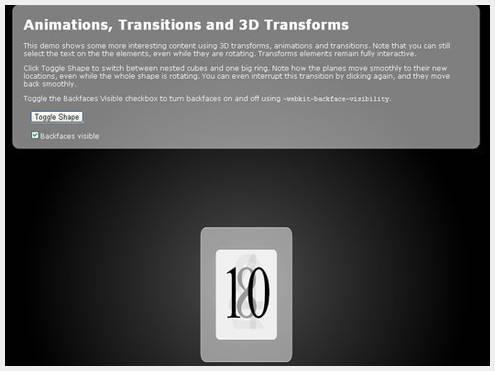 16个天马行空令人印象深刻的CSS3&HTML5尝试