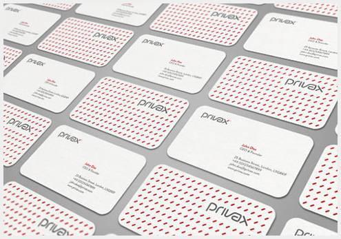 33个新鲜有创意的名片设计