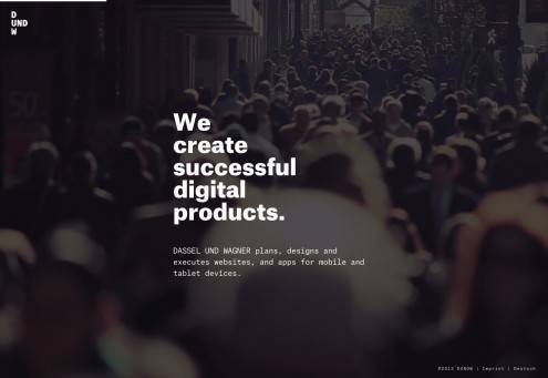 DASSEL UND WAGNER | We create digital products.