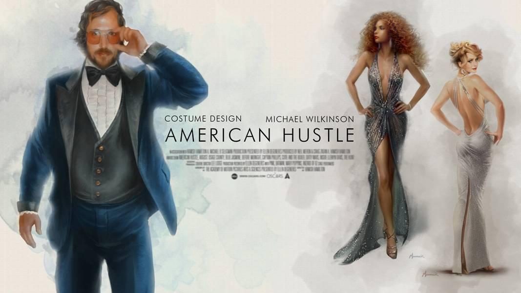 第86届奥斯卡提名影片屏幕海报设计