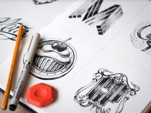 7-logo-sketches