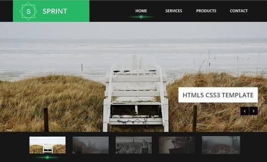 40个清新自由的HTML5和CSS3模板