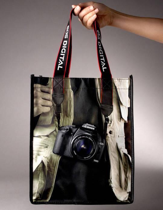 超有创意的购物袋设计