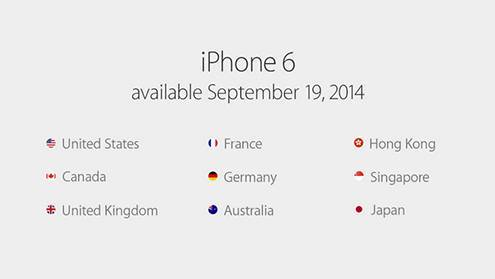 iPhone6 & Apple Watch发布会
