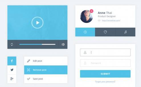 1-flat-UI-designs-download-free-PSD