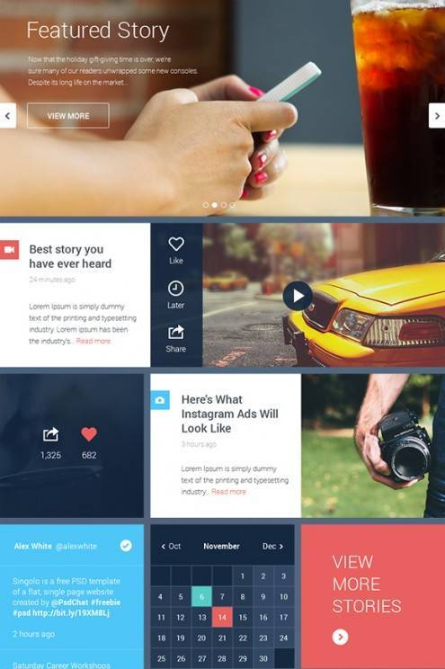 18-flat-UI-designs-download-free-PSD