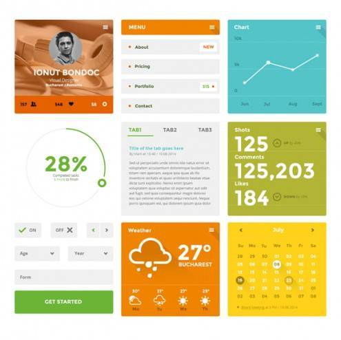 20-flat-UI-designs-download-free-PSD