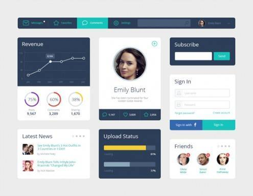 7-flat-UI-designs-download-free-PSD