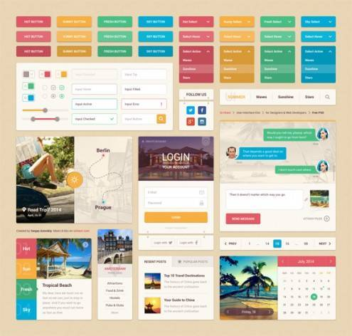 8-flat-UI-designs-download-free-PSD