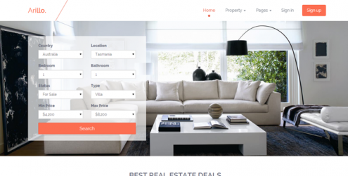 Arillo-Responsive-Real-Estate-Theme