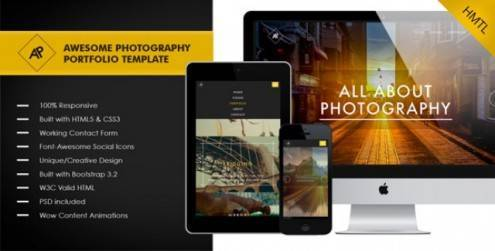 Awesome-Photography_Portfolio-Template