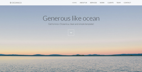 Oceanica-Responsive-Single-Page-Theme