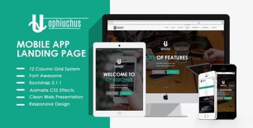 Ophiuchus-Mobile-App-Landing-Page