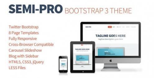 Semi-Pro-Bootstrap-Portfolio-Theme-