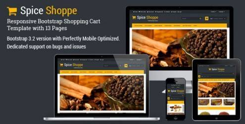 Spice-Shoppe-Bootstrap-Shopping-Cart