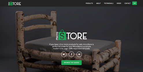 microStore-OnePage-ecommerce-Theme