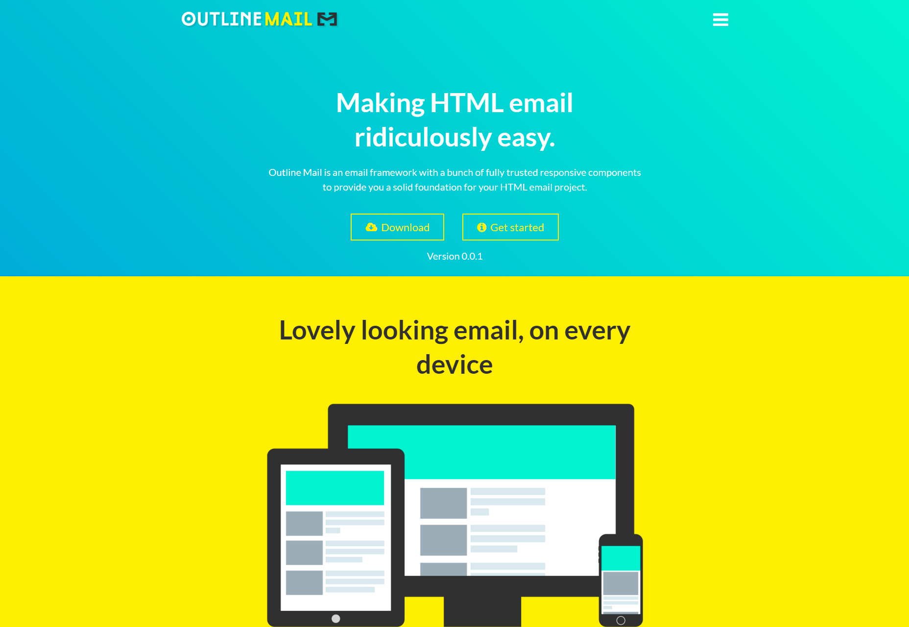 Outline Mail: Easy HTML Email Templates